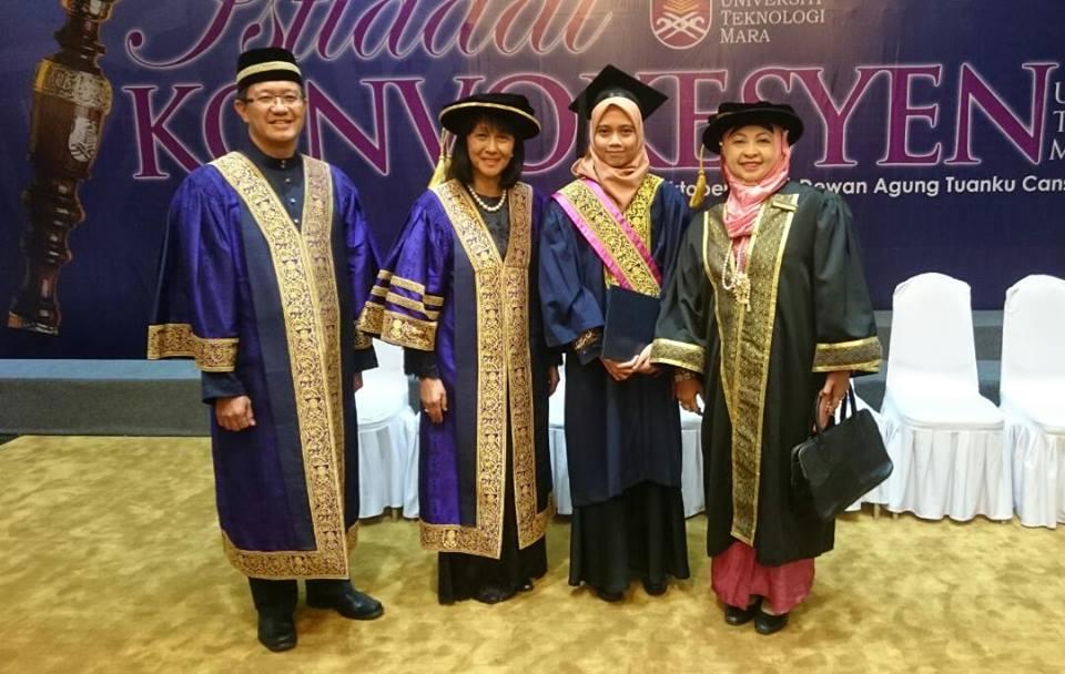 Pelajar KTT Terima Anugerah Naib Canselor UiTM